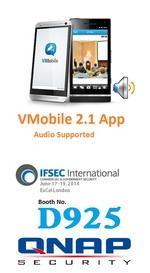QNAP enhances Vmobile with audio | SecurityWorldMarket com
