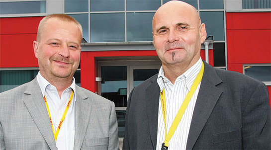 Pär Björkman, Senior Security Supervisor and Jan Collander, CPO and Country Security Manager at DHL Freight