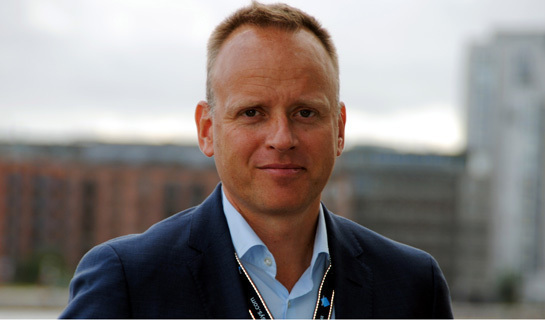 Lars Thinggaard, CEO of Milestone