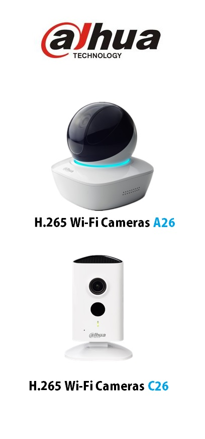 Dahua launches H 265 Wifi cameras for consumer market