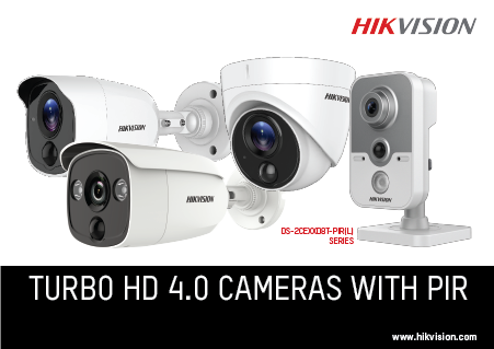 Hikvision launches Turbo HD 4 0 camera with PIR