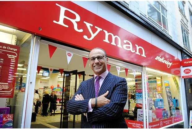 Following the successful installations at the original 51 Ryman stores. an order has been received to provide a further 132 Ryman stores with the same tailor made solution.