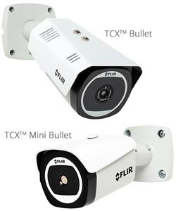 Latest TCX cameras from Flir include IR detection combined with video for alarm verification