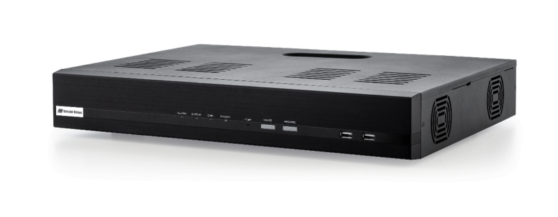The AV NVR offers the choice of 8 or 16 channel models (one channel = one camera sensor), each with built in PoE network switch, customer-replaceable hard drives, and Arecont Vision GUI interface