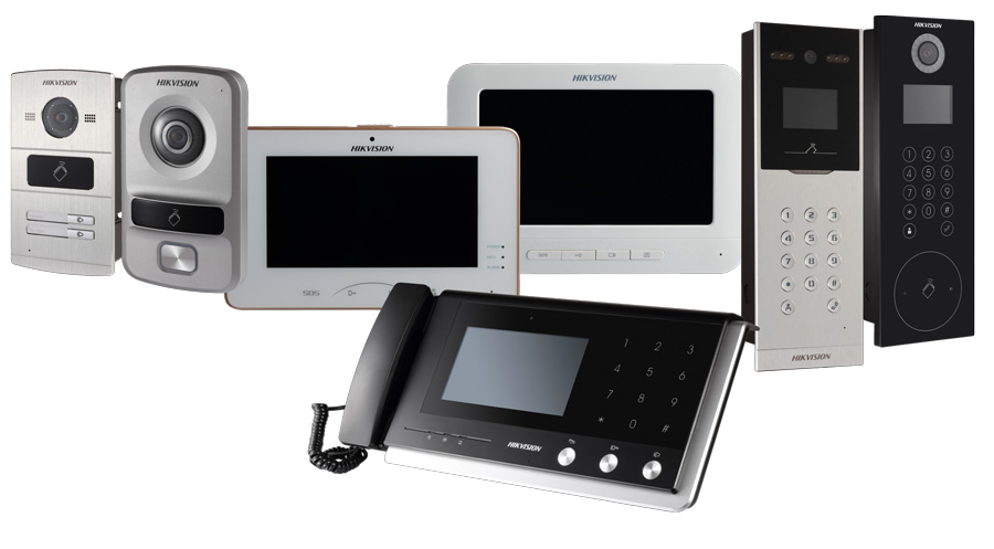 Hikvision Door Phone System For Home Amp Business Securityworldmarket Com