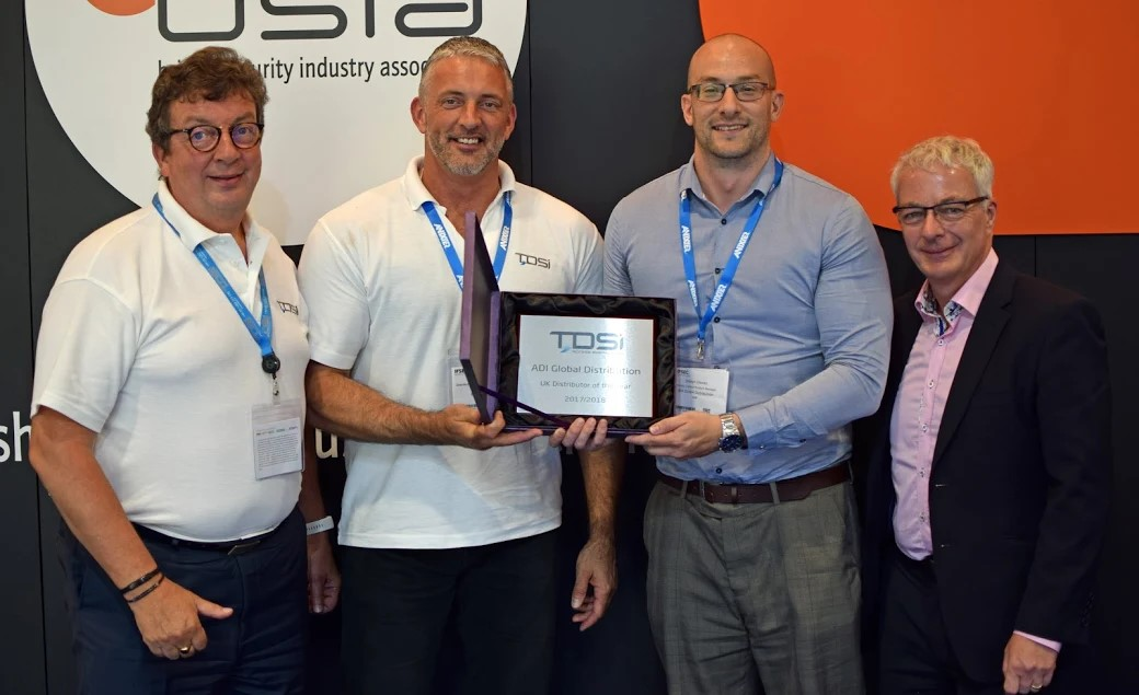 ADI selected as distributor of the year by Tdsi