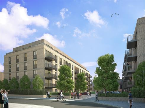 IP door entry system secures prestige Battersea development