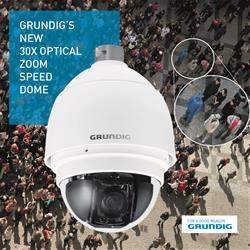 new 30x zoom ip speed dome from grundig. Black Bedroom Furniture Sets. Home Design Ideas