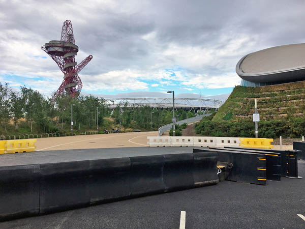 Rosehill barriers form protection at London Olympic Park