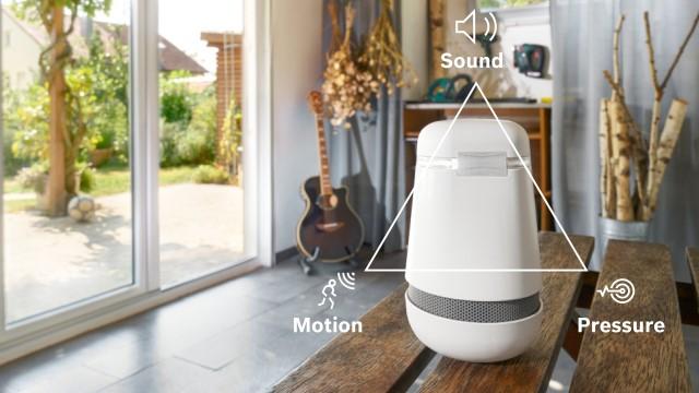New Bosch Spexor mobile, multi-sensor alarm device (image)