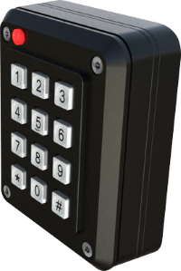 The new vandal resistant RXSK keypad / reader