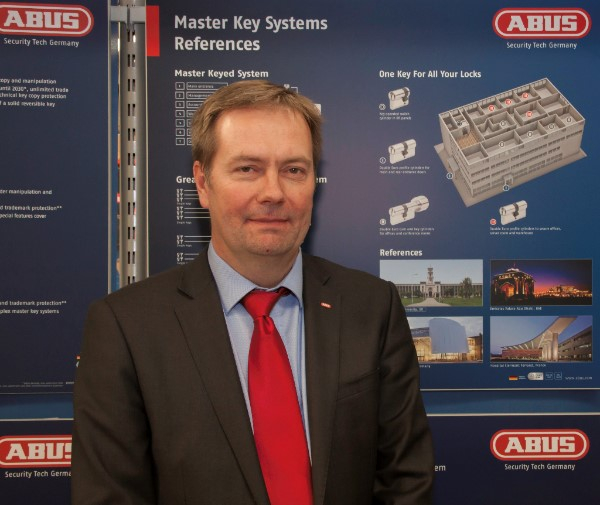 Peter Romanov, new MD of Abus UK