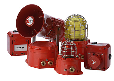 The new products add visual signalling to the explosion proof and corrosion resistant Gnex family
