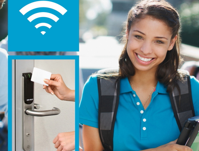 Aperio wireless locking provides safety, security and versatility
