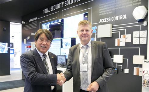 Panasonic and Bravida shake on new deal at Ifsec