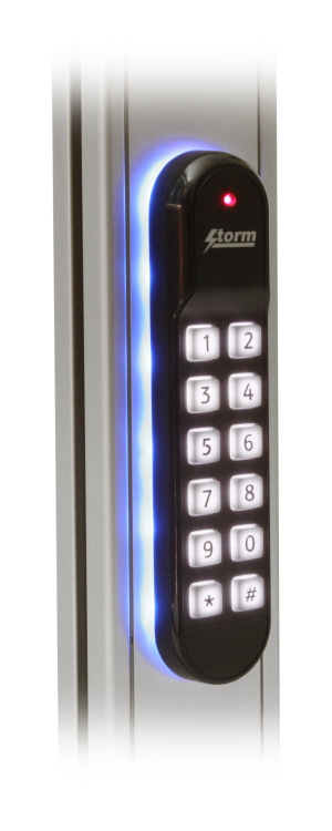 Storm S60 outdoor rated keypad-reader