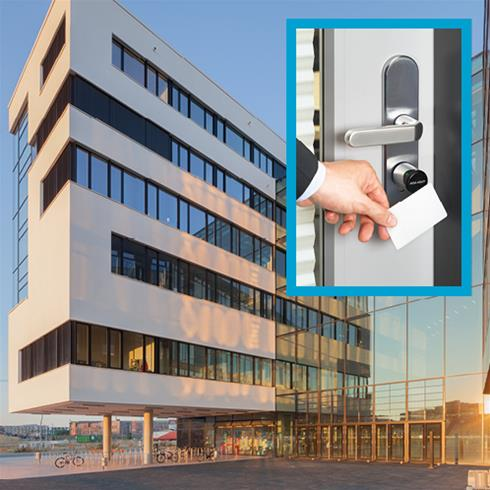 Assa Abloy Aperio access control at university campus