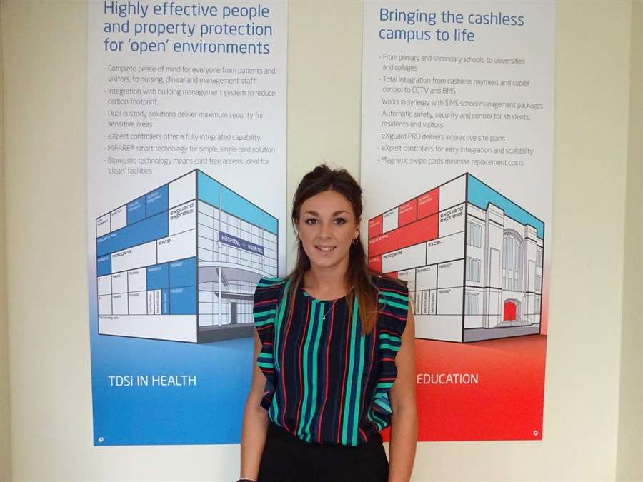 Madison Reed, newly appointed at Tdsi in Poole, Doret