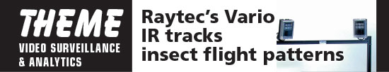 Raytec's Vario IR tracks insect flight patterns