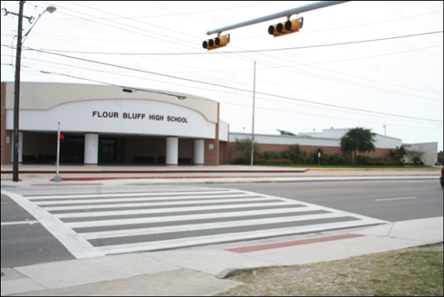 Flour Bluff ISD serves over 5,600 students who range from pre-kindergarten through high school.