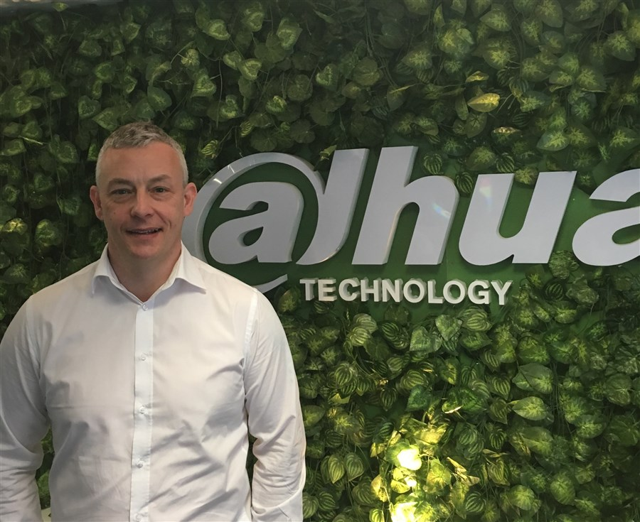 Steve Norman, appointed as Key Account Manager at Dahua UK