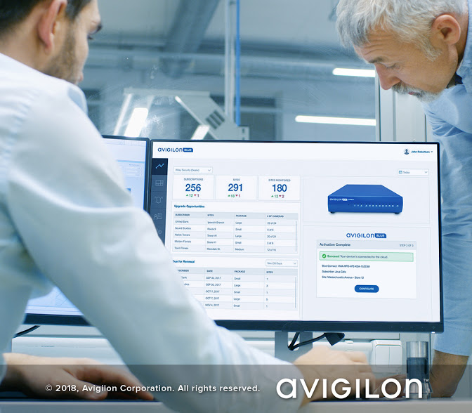 Avigilon launches Avigilon Blue, its new subscription-based integrator cloud service platform for security and surveillance.