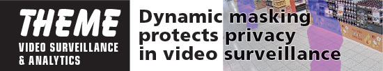Dynamic masking protects privacy in video surveillance