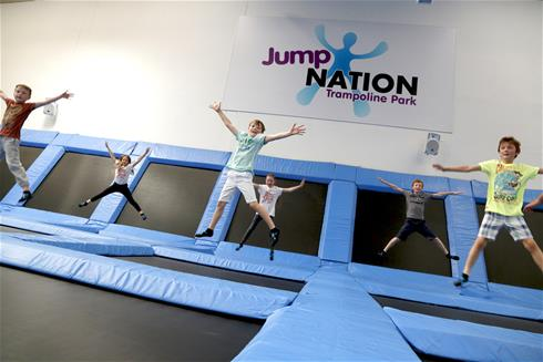 Trampoline arena deploys Samsung surveillance and stores video for three years