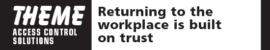Returning to the workplace is built on trust