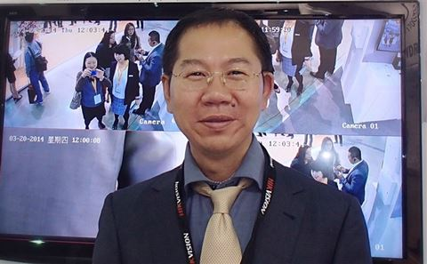 Keen Yao, Vice President for Hikvision International Business Center.