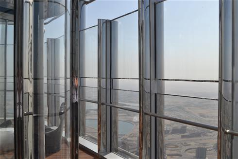 Highest revolving door in the World