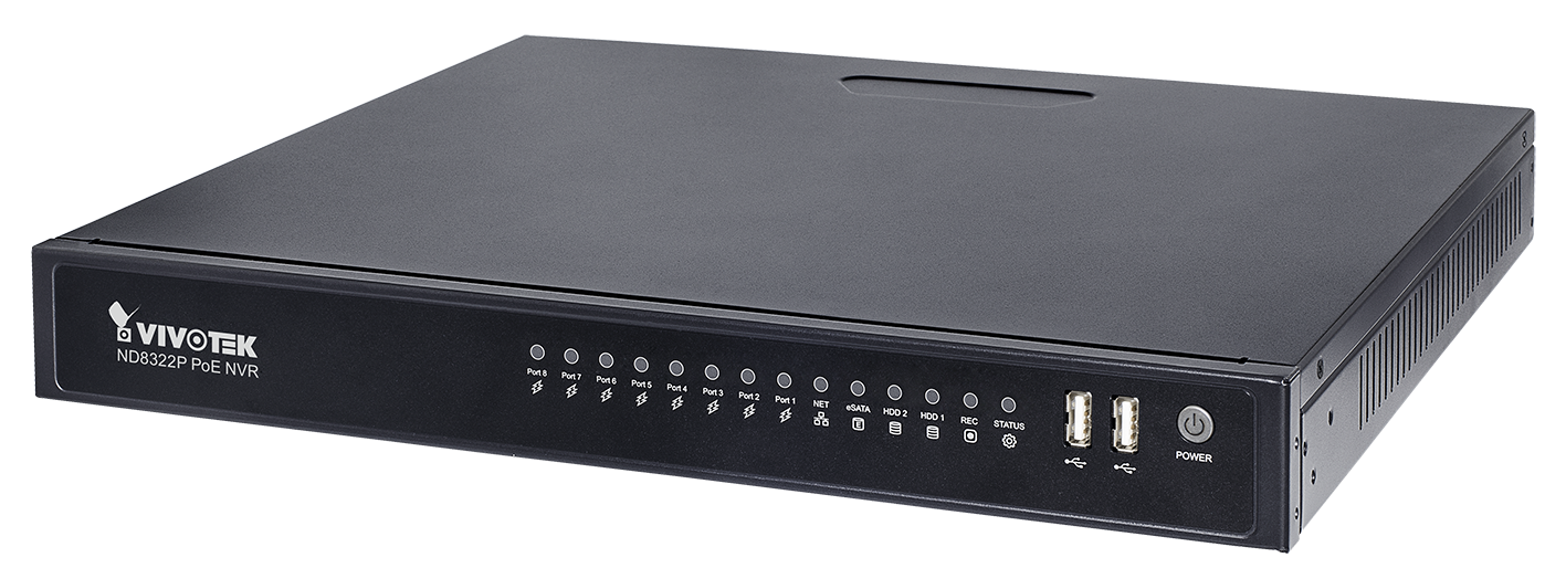 Vivotek's fully featured PoE NVR for most applications