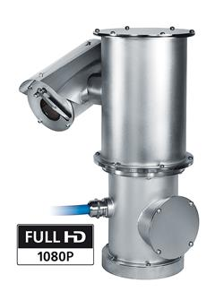 Videotec's new NXPTZHD stainless-steel, full HD, PTZ camera for corrosive environments