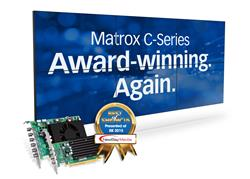 Matrox C graphics card wins award