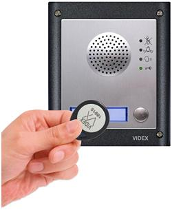 A new feature to the GSM Pro is the integrated proximity access control for up to 1000 users.