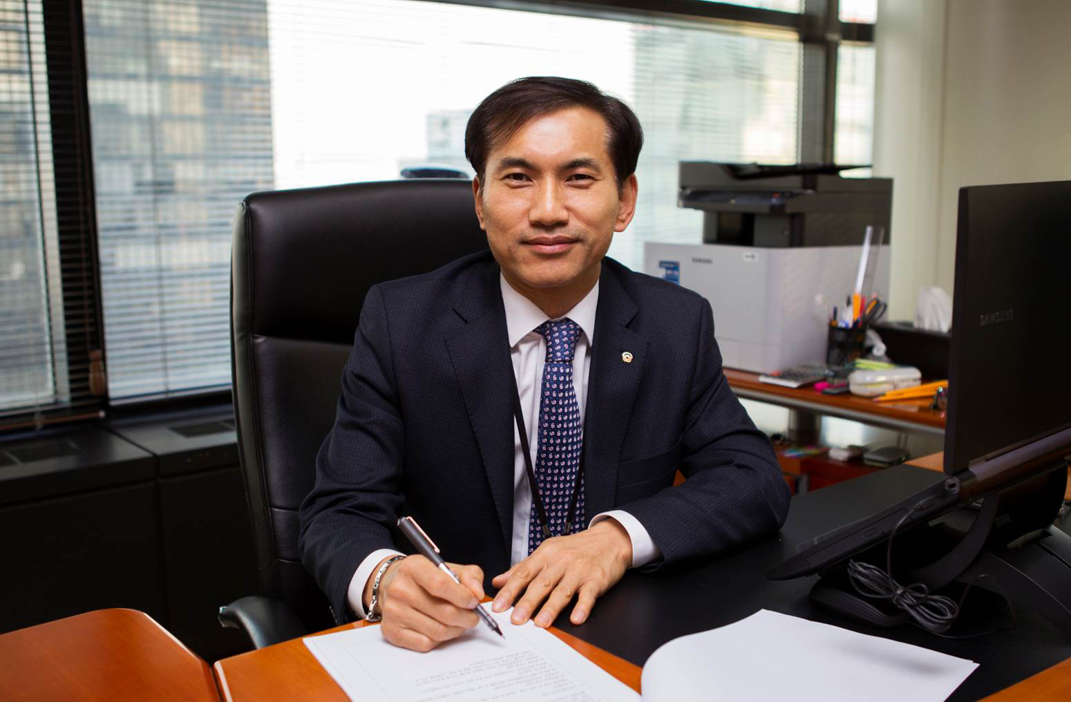 Lee Man-Seob, President and CEO of Hanwha Techwin Security Business Group