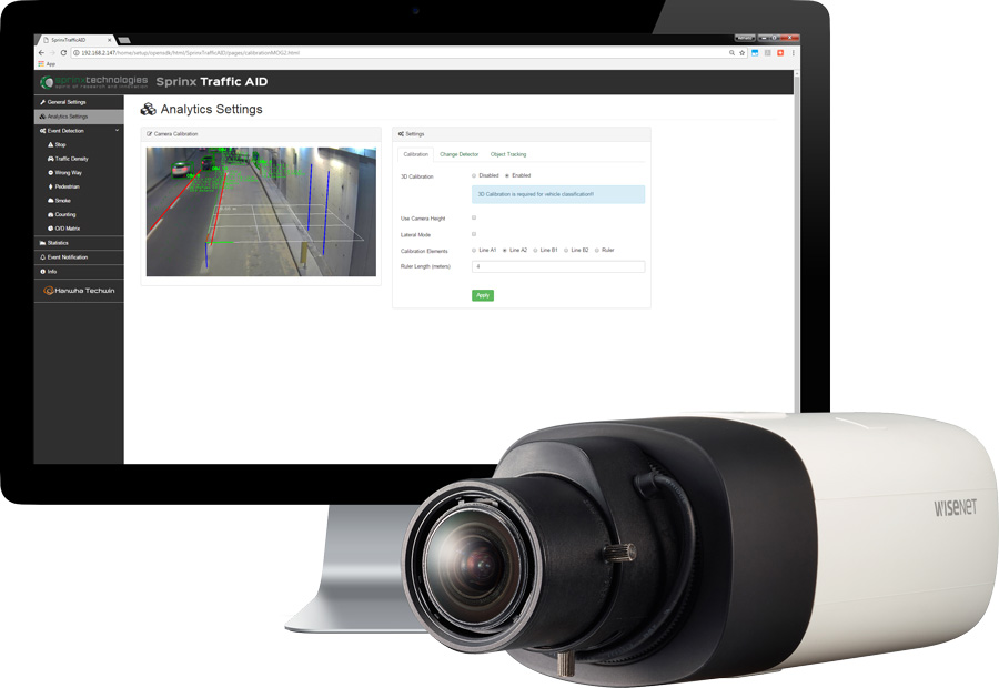 AID solutions utilise intelligent image processing to quickly alert operators about traffic incidents and queuing.