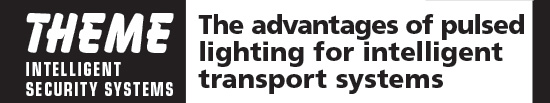 The advantages of pulsed lighting for intelligent transport systems