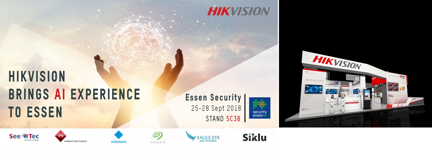Hikvision brings AI to Essen with partners
