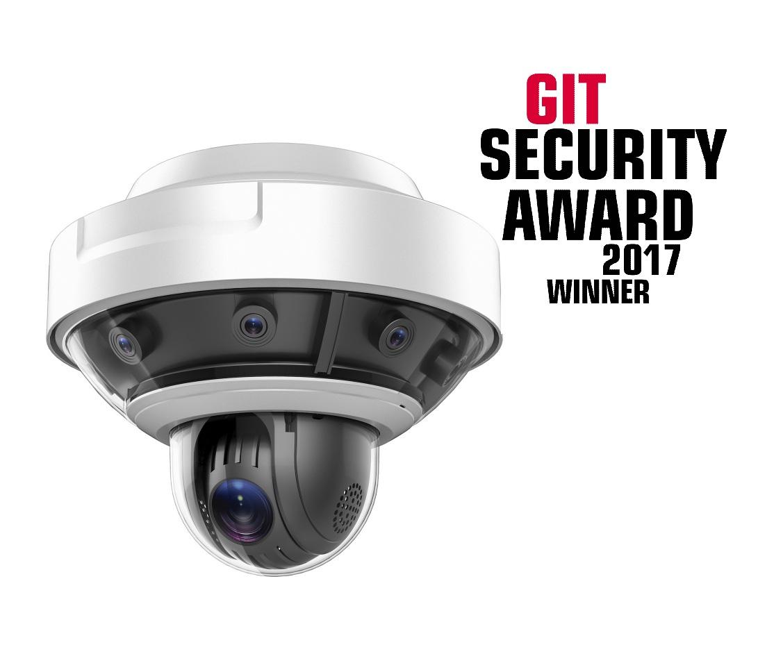 Hikvision panoramic camera wins security award