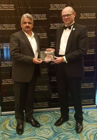 Siemens Middle East presented with Frost & Sullivan award