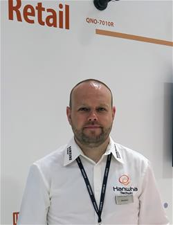 Barry Clayton newly appointed at Hanwha Techwin to develop retail security business