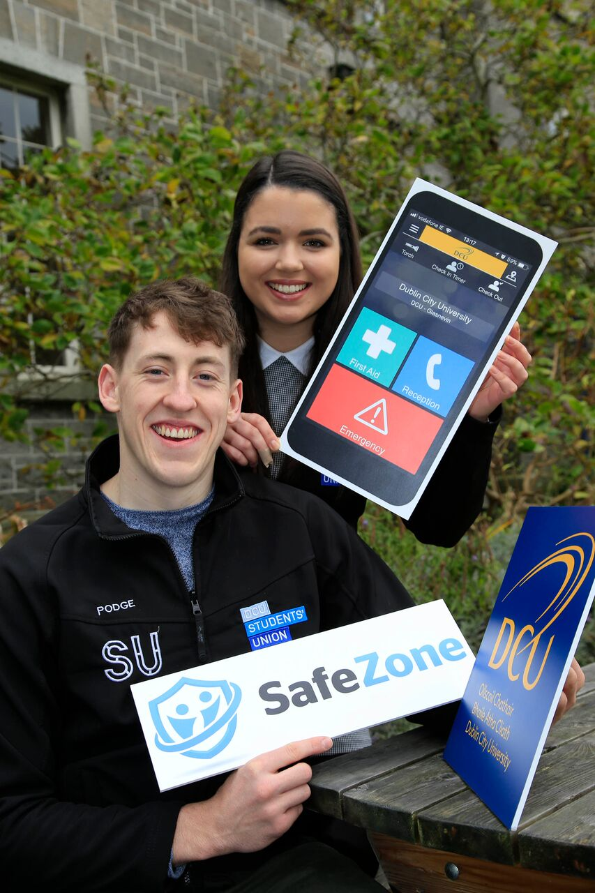 DCU is the first university in the Republic of Ireland to roll-out Safezone