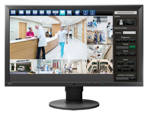 Computerless IP video playback made easy as Dallmeier cooperates with Eizo.