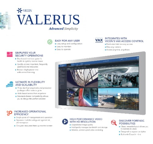 The next generation Valerus VMS from Vicon Industries