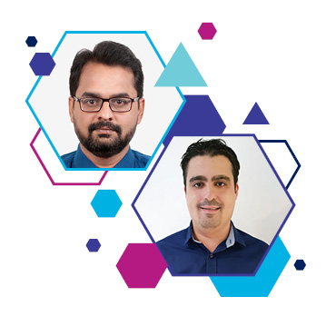 Motasem Al Khasawneh and Ambar Dalvi have joined Indigivision's Middle East team