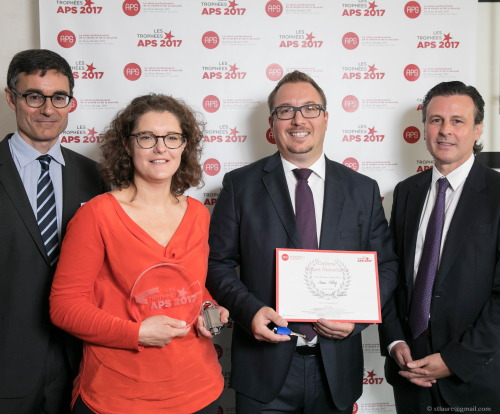 Assa Abloy picks up gold award in Paris